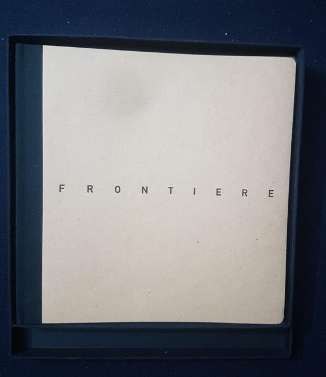 cover Frontiere, fotografie di Armin Linke