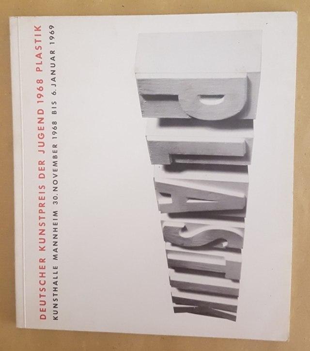 cover Plastik, deutscher kunstpreis der jugend 1968