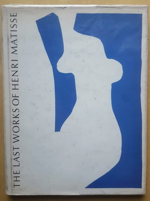 cover The last works of Henri Matisse: large cut gouaches