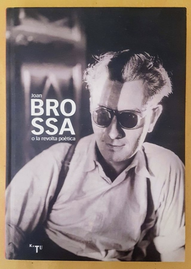 cover Joan Brossa o la revolta poètica