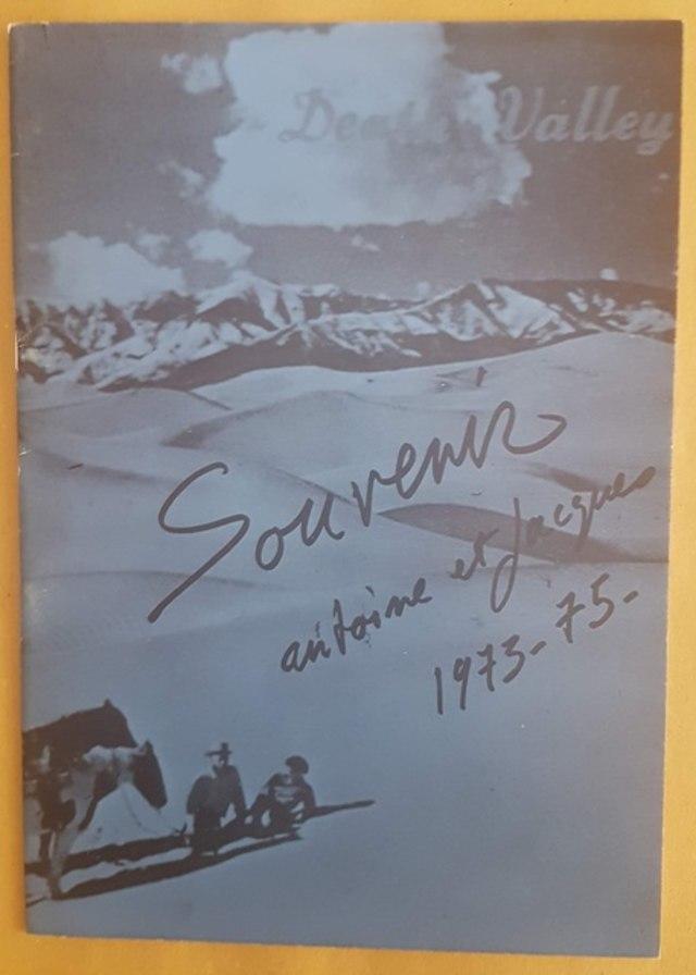 cover Souvenir Antoine et Jacques 1973/1975 - Death Valley