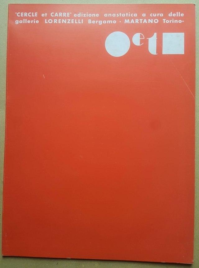 cover Cercle et Carré, 1969