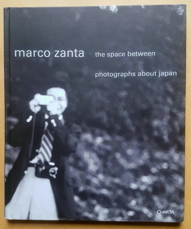 cover The space between, photographs about Japan