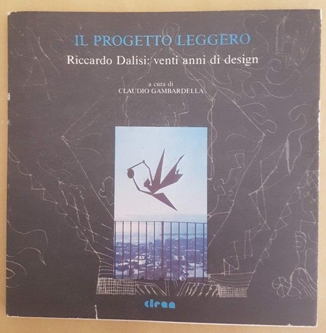 cover Il progetto leggero - Riccardo Dalisi: venti anni di design