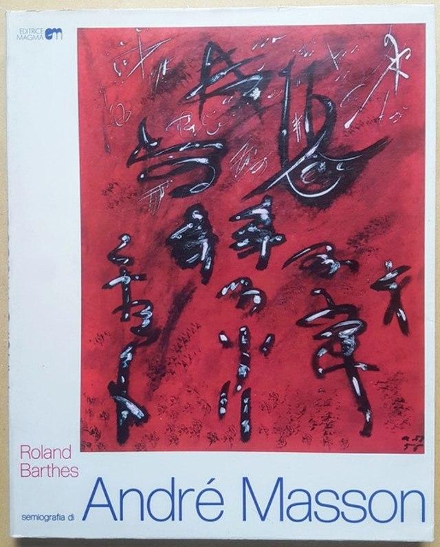 cover Semiografia di André Masson