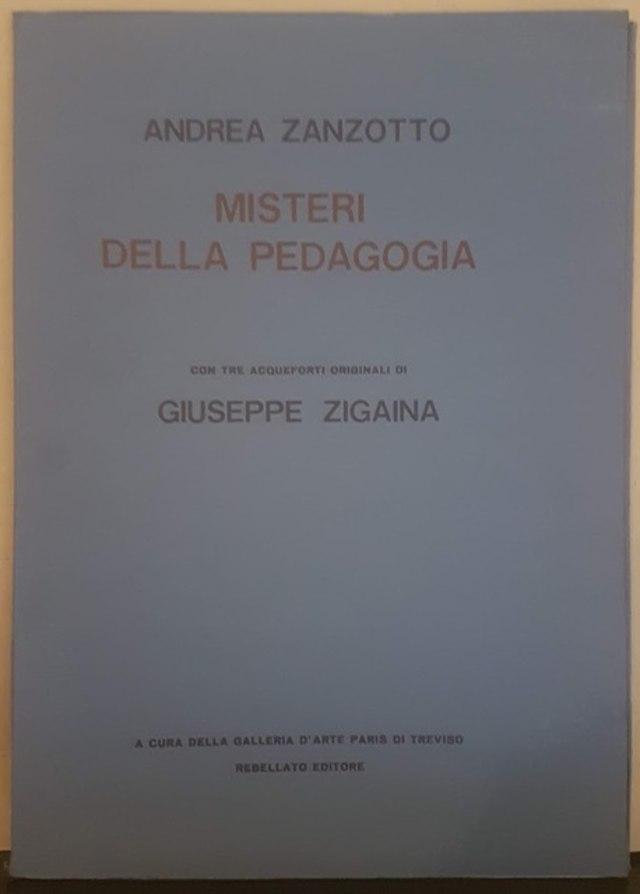 cover misteri della pedagogia
