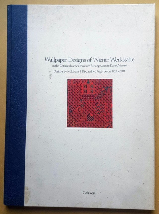 cover Wallpaper Design of Wiener Werkstatte