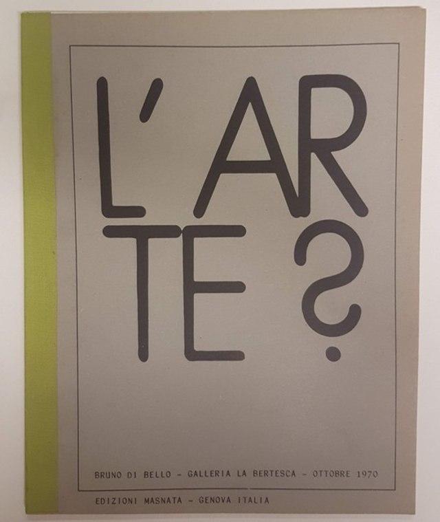 cover L'Arte? L'Arte!
