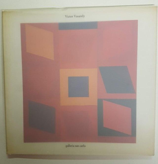 cover Victor Vasarely, opere dal 1974 al 1989