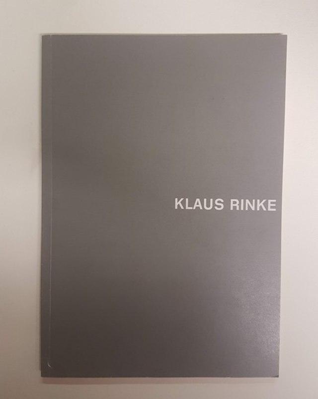 cover Klaus Rinke, XII Bienal de Sào Paulo 1973
