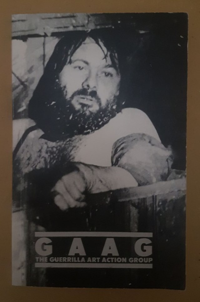 cover GAAG, the guerrilla art action group 1969-1976