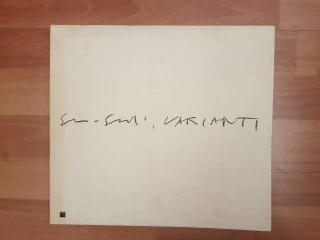 cover Guido Guidi - Varianti