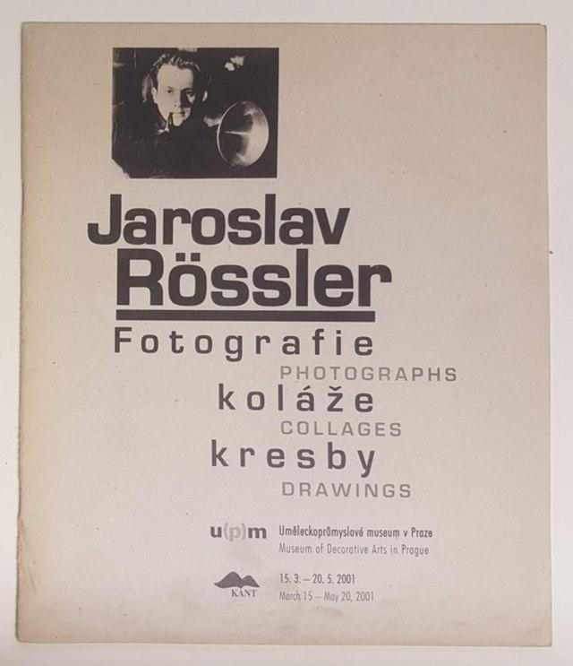 cover Jaroslav Rossler -  Fotografie Kolàze Kresby