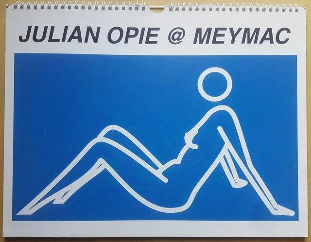 cover Julian Opie @ Meymac