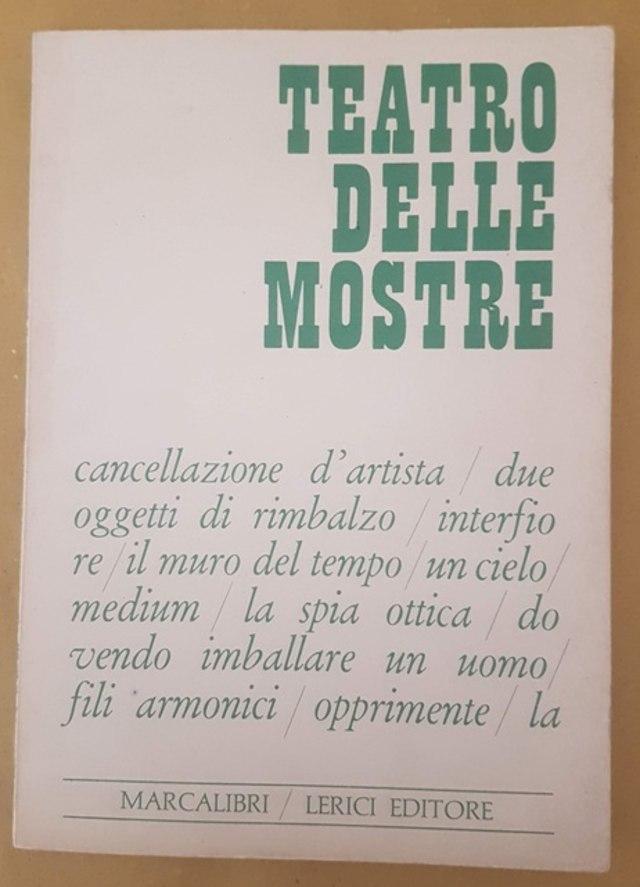 cover Teatro delle mostre