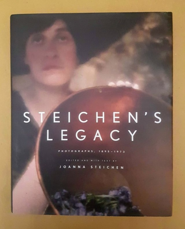 cover Steichen's legacy, photographs 1895-1973