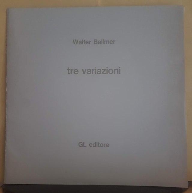 cover TRE VARIAZIONI