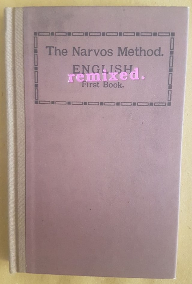 cover The Narvos Method, english remixed first book
