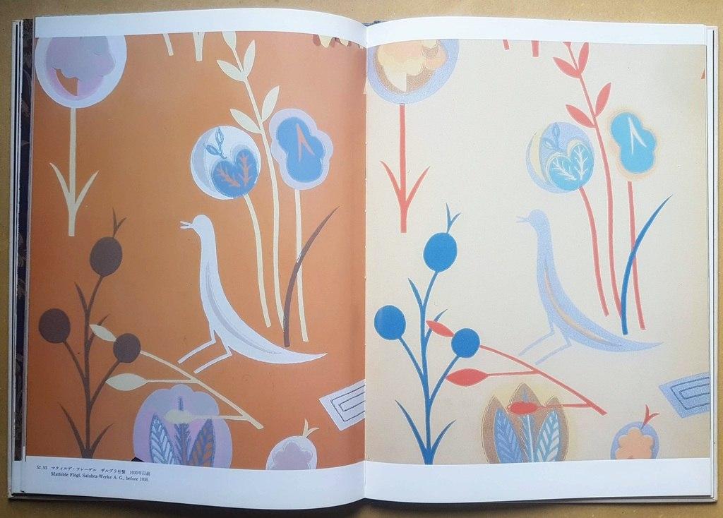 Wallpaper Design of Wiener Werkstatte gallery