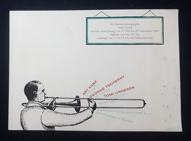 cover Art Kane ein Photograph, George Tscherny ein Graphiker, Tomi Ungerer ein Illustrator aus New York