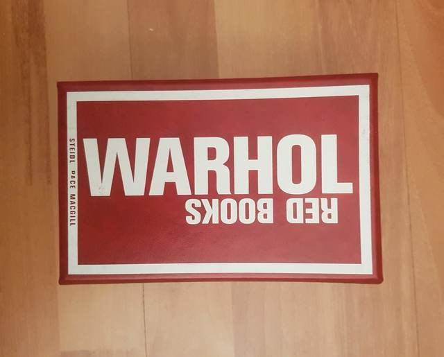 cover Warhol Red Books