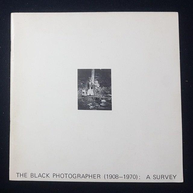 cover The black photographer (1908-1970): a survey