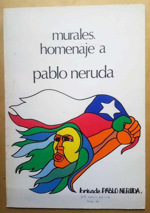 cover Murales, homenaje a Pablo Neruda