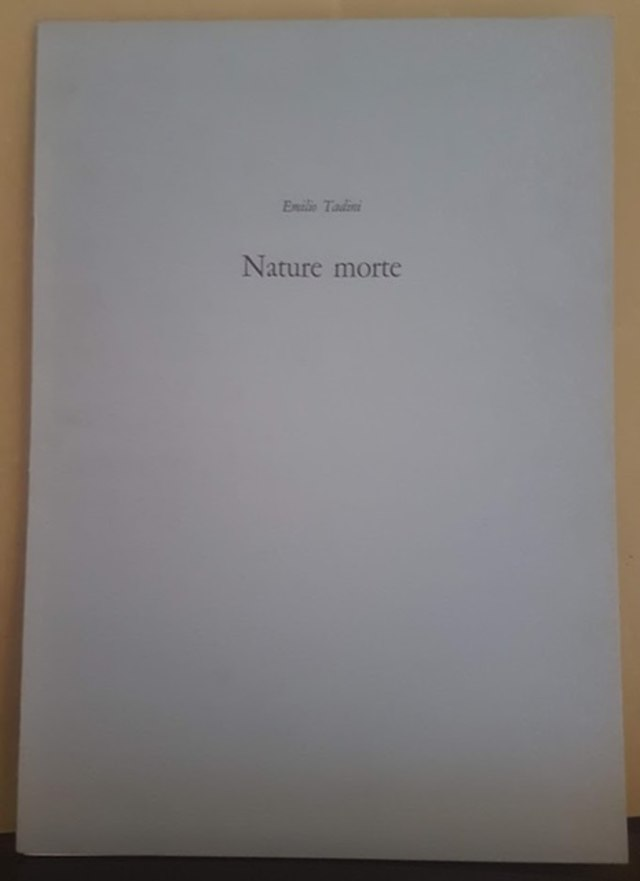 cover NATURE MORTE