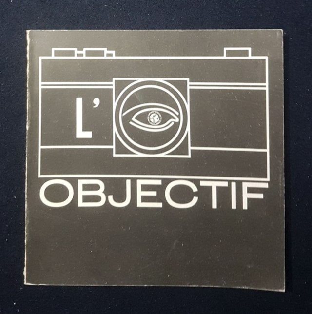 cover L'oeil  objectif