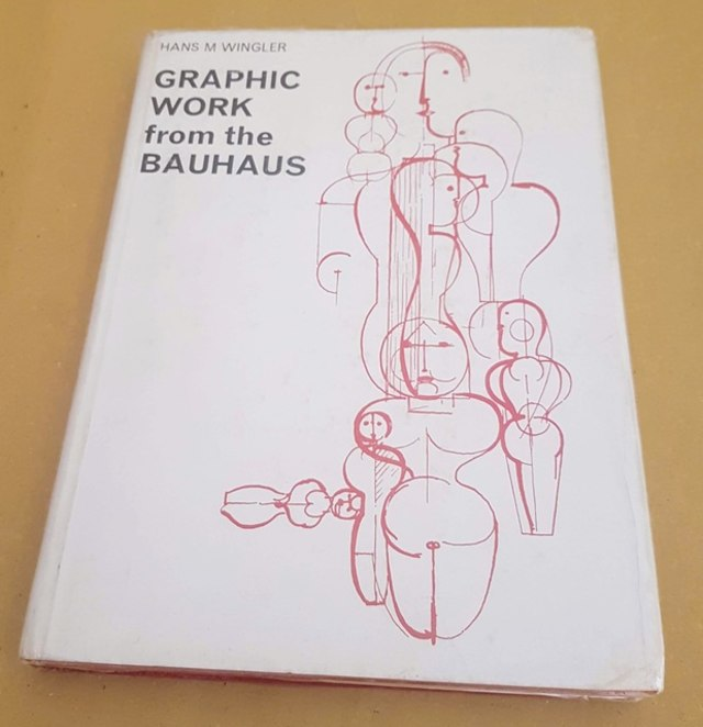 cover Graphic work from the Bauhaus