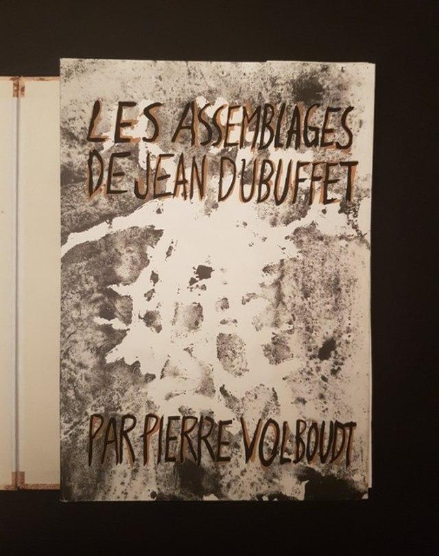 cover Les Assemblages de Jean Dubuffet